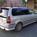 Автомобиль для семьи, минивен