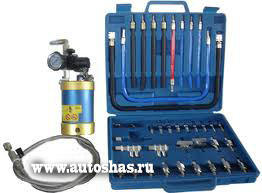 Одноконтурная установка для промывки инжектора и топливной системы