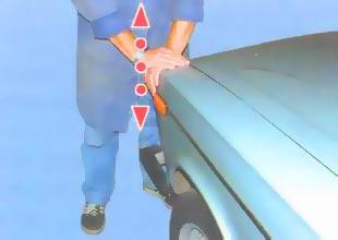 Раскачивание автомобиля