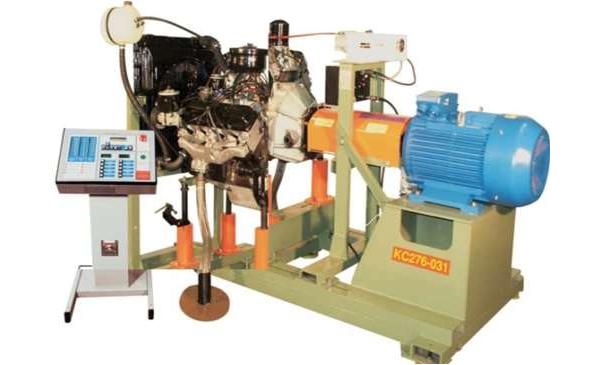 Холодная обкатка двигателя на стенде