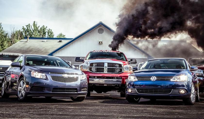 Дизельные и бензиновые автомобили