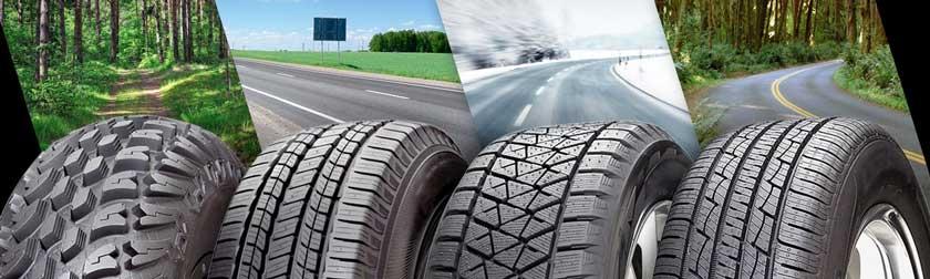 Виды автомобильной резины по сезонам и типам дорог