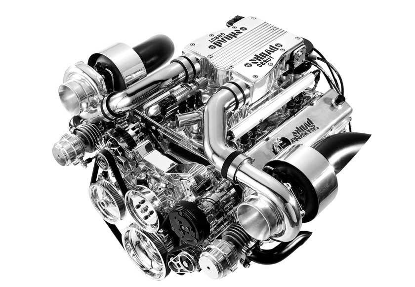 Пример турбированного двигателя