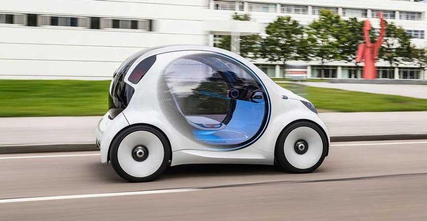 Экологичный электромобиль будущего