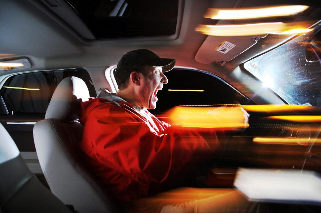 Ускорение автомобиля