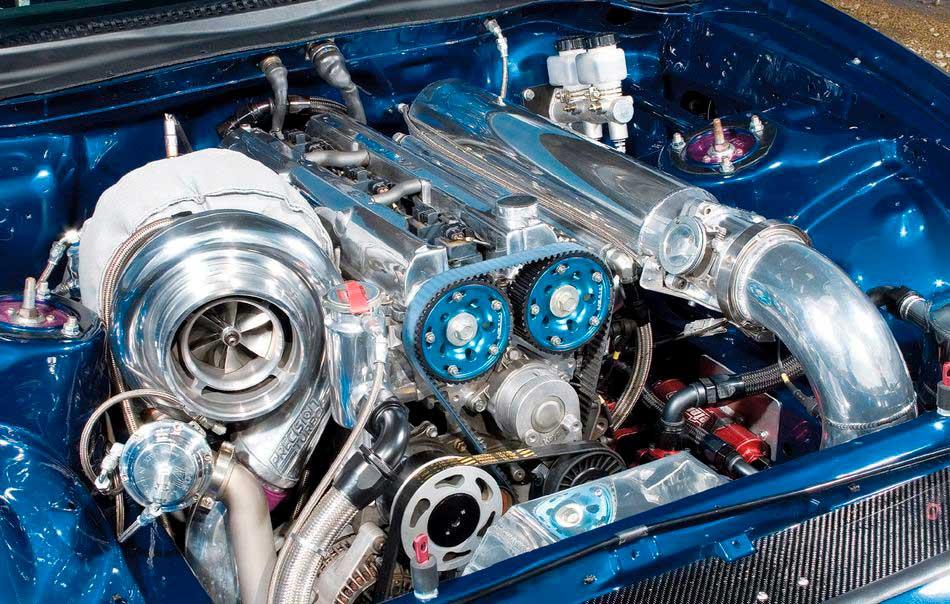 Пример тюнинга двигателя авто