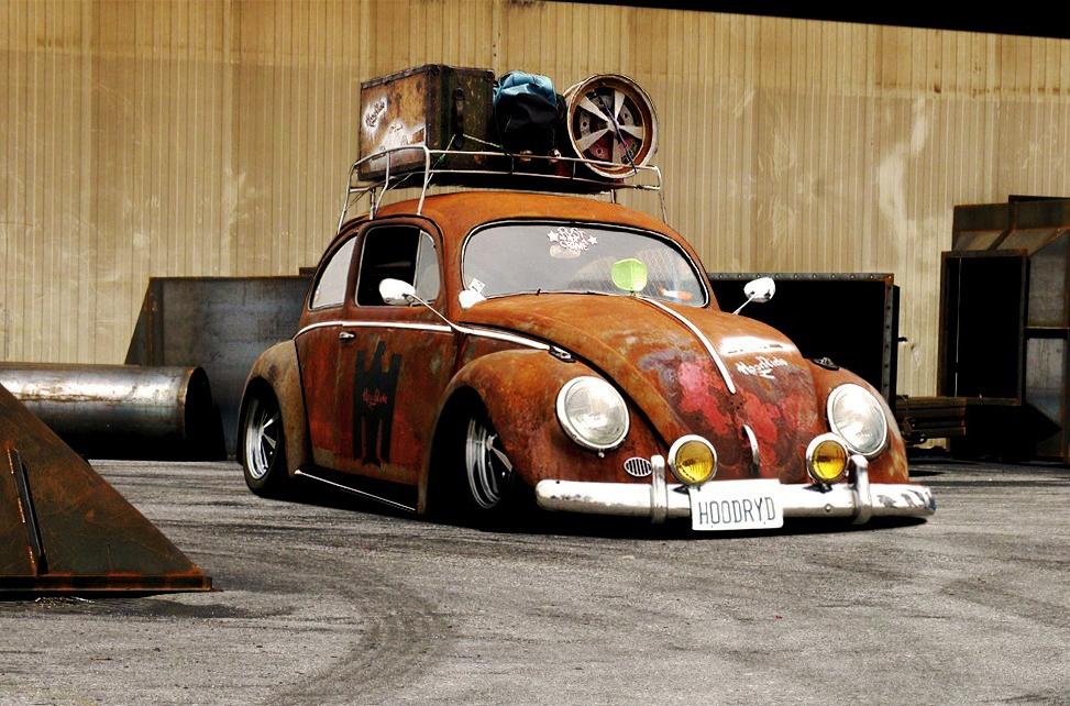 Пример тюнинга авто в стиле HOOT RIDE
