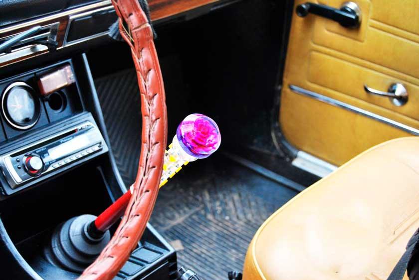 Пример розочки на руле ВАЗ 2106