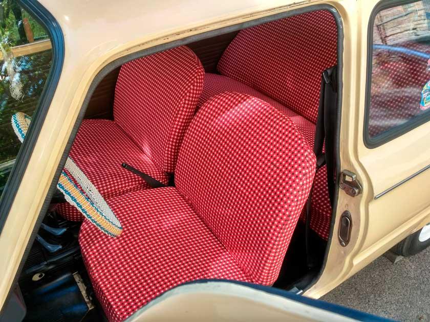 Чехлы на сиденьях Запорожца