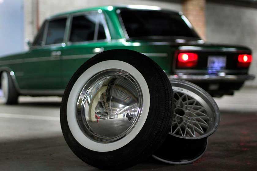 Пример отечественного тюнинга колес и покрышек ВАЗ 2101